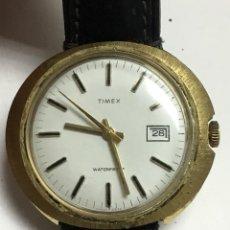 Relojes de pulsera: TIMEX RELOJ MECANICO,,CAJA OVAL RARARISIMA CHAPADA,FUNCIONA MUY BIEN. Lote 127438843