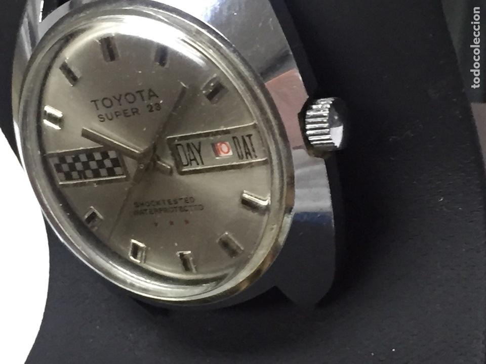 Relojes de pulsera: Reloj para piezas marca TOYOTA SÚPER 23 SHOCKTESTED WATERPROTECTED - Foto 2 - 127976108