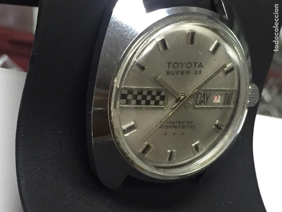 Relojes de pulsera: Reloj para piezas marca TOYOTA SÚPER 23 SHOCKTESTED WATERPROTECTED - Foto 3 - 127976108