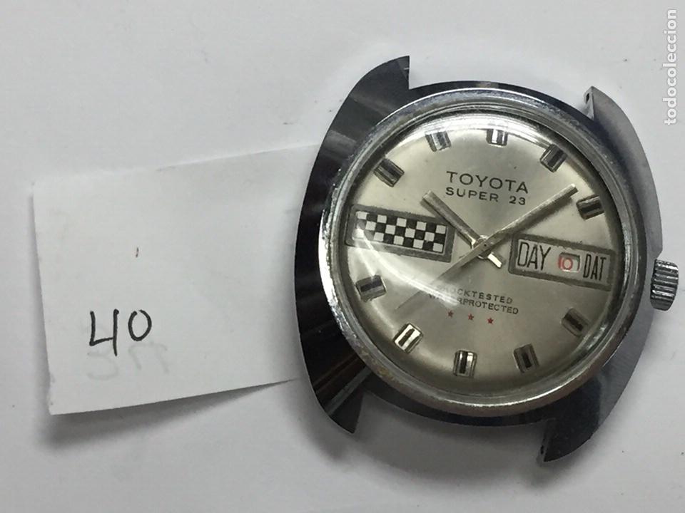 Relojes de pulsera: Reloj para piezas marca TOYOTA SÚPER 23 SHOCKTESTED WATERPROTECTED - Foto 7 - 127976108