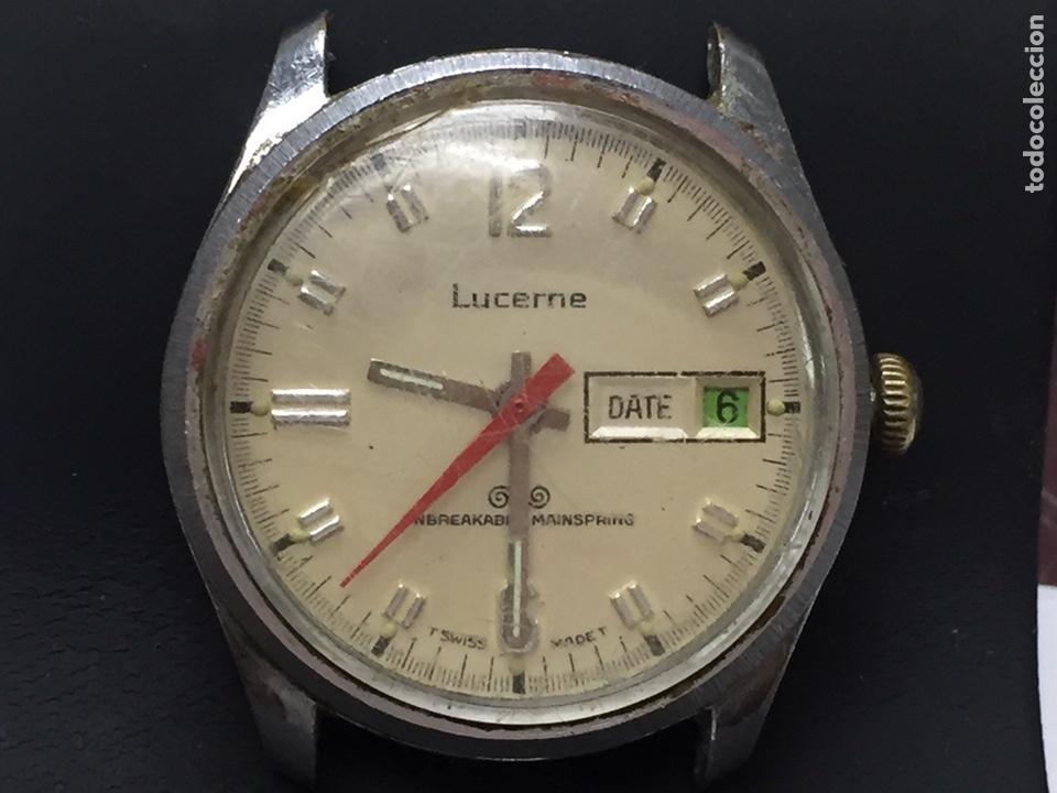 RELOJ PARA PIEZAS MARCA LUCERNE CON DIAL (Relojes - Pulsera Carga Manual)