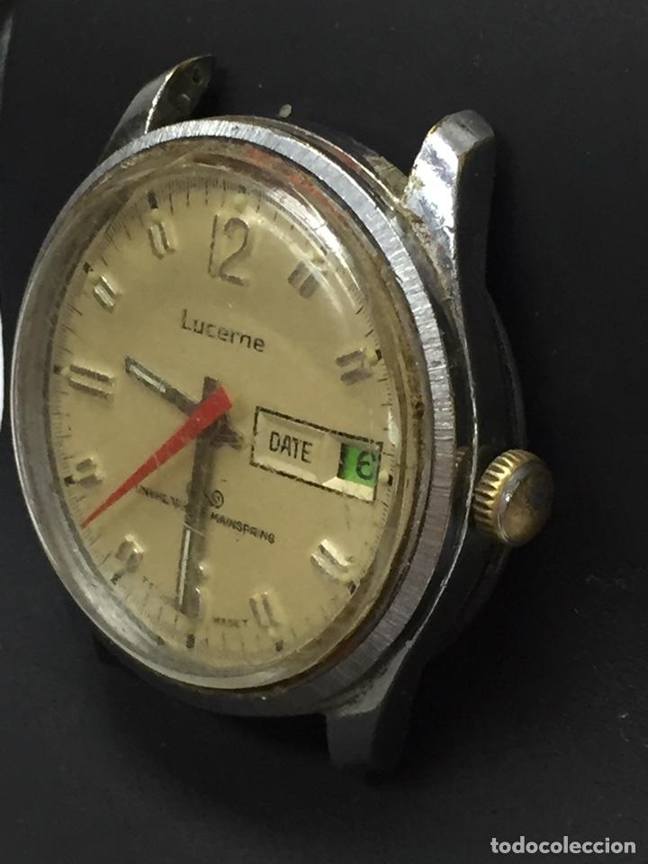 Relojes de pulsera: Reloj para piezas marca LUCERNE CON DIAL - Foto 2 - 127976512
