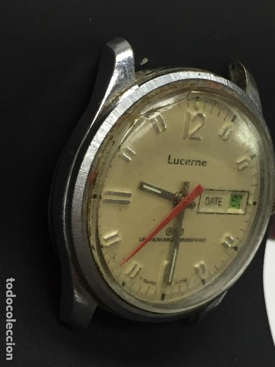 Relojes de pulsera: Reloj para piezas marca LUCERNE CON DIAL - Foto 3 - 127976512
