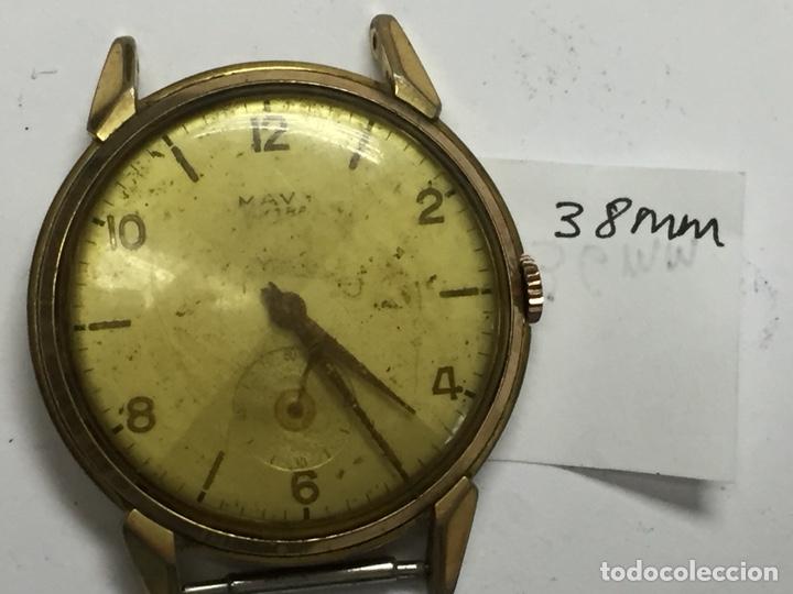 Relojes de pulsera: Reloj para piezas marca MAVY ancre 15 rubis - Foto 7 - 127976750