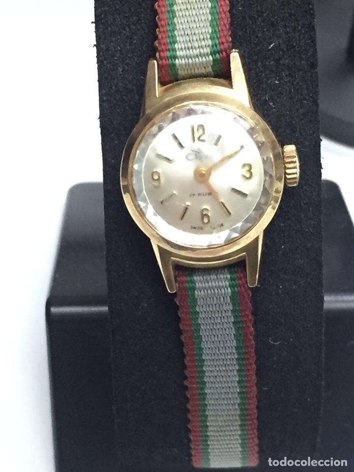 Relojes de pulsera: Reloj carga manual marca CLIPER 17 rubis en FUNCIONAMIENTO - Foto 2 - 127977176