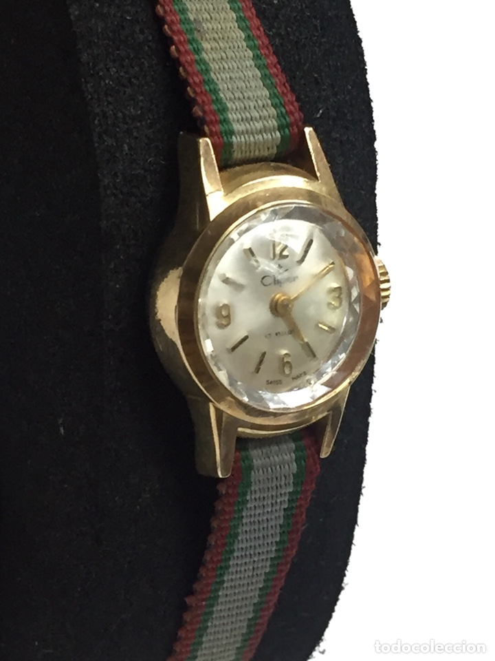 Relojes de pulsera: Reloj carga manual marca CLIPER 17 rubis en FUNCIONAMIENTO - Foto 4 - 127977176
