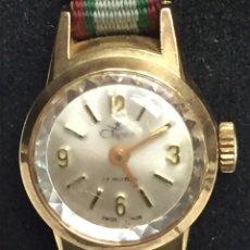 Relojes de pulsera: RELOJ CARGA MANUAL MARCA CLIPER 17 RUBIS EN FUNCIONAMIENTO. Lote 127977176
