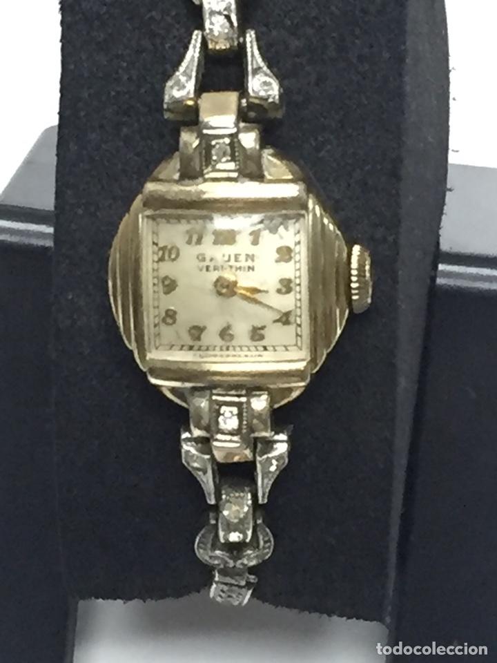 RELOJ CARGA MANUAL MARCA GRUEN VERITHIN EN FUNCIONAMIENTO (Relojes - Pulsera Carga Manual)