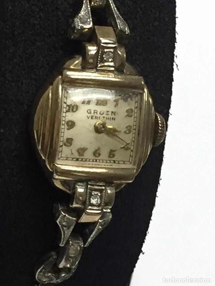 Relojes de pulsera: Reloj carga manual marca GRUEN VERITHIN EN FUNCIONAMIENTO - Foto 2 - 127977311
