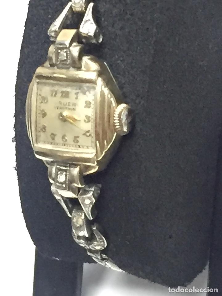 Relojes de pulsera: Reloj carga manual marca GRUEN VERITHIN EN FUNCIONAMIENTO - Foto 4 - 127977311