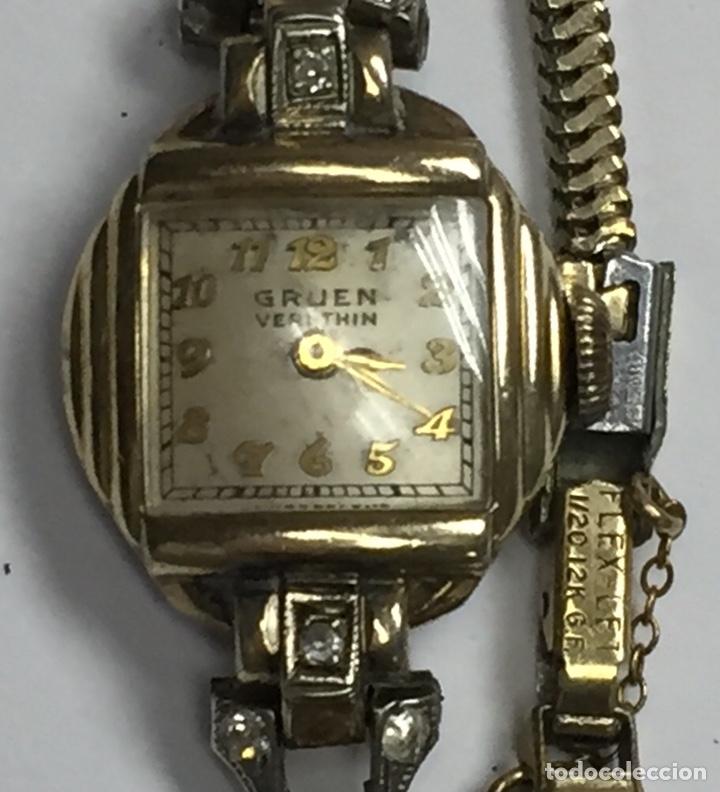 Relojes de pulsera: Reloj carga manual marca GRUEN VERITHIN EN FUNCIONAMIENTO - Foto 3 - 127977311