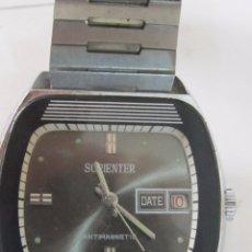 Relojes de pulsera: RELOJ SORIENTER DE CARGA MANUAL, CON CALENDARIO. Lote 173011842