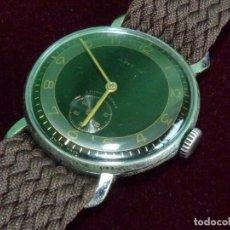 Relojes de pulsera: PRECIOSO RELOJ CERTINA GRANA MILITAR DIAL DUOTONO CALIBRE KF310 ASAS FIJAS 1939 COLECCIÓN. Lote 128100455