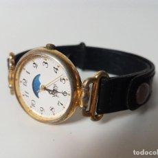 Relojes de pulsera: RELOJ MUJER CON CALENDÁRIO LUNAR. Lote 128435755