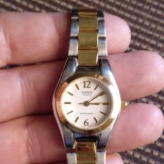 Relojes de pulsera: RELOJ CASIO MUJER ELEGANTE FUNCIONA PERFECTAMENTE. Lote 128437843
