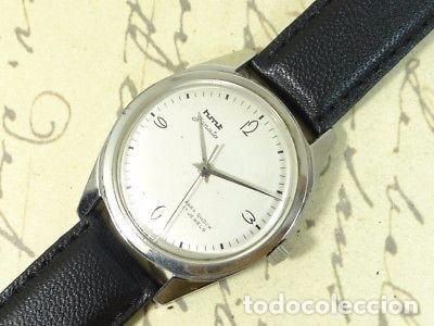 VINTAGE RELOJ HMT JANATA AÑOS 70 .COMO NUEVO. (Relojes - Pulsera Carga Manual)