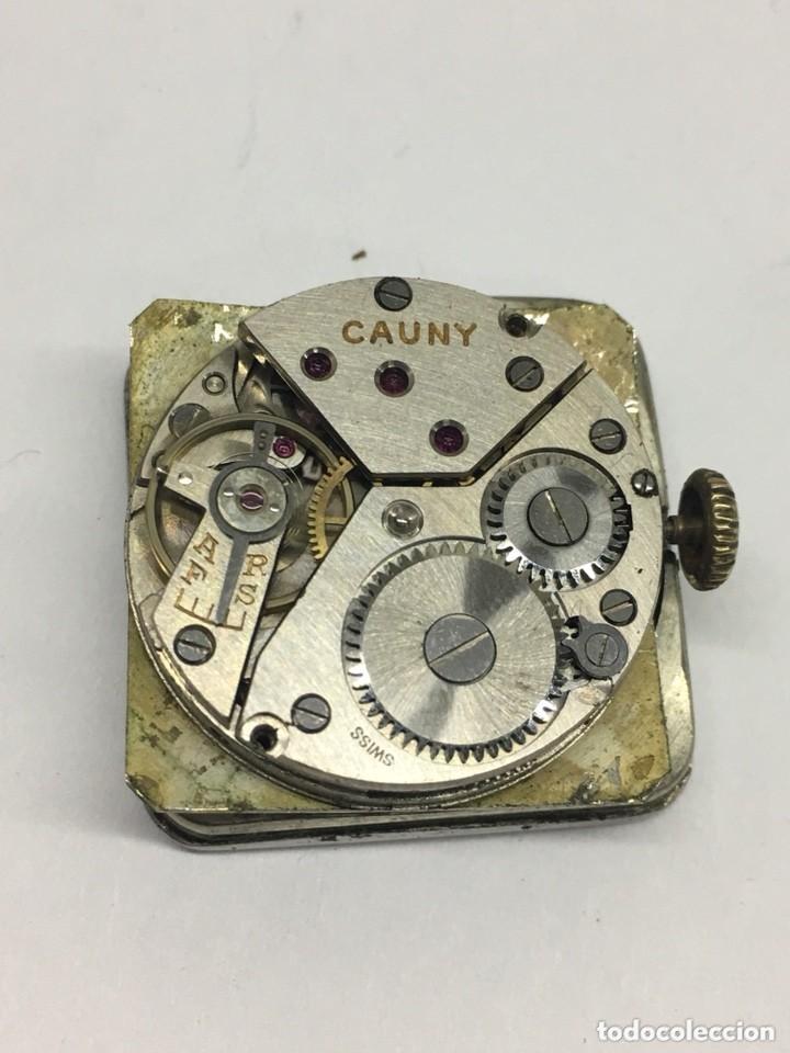 Relojes de pulsera: reloj cauny prima,cristal lupa especial,repasado por relojero en buen funcionamiento - Foto 3 - 128647035
