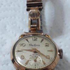 Relojes de pulsera: RELOJ DE CUERDA BELORA 15 RUBIS.FUNCIONA PERFECTAMENTE.. Lote 128687147