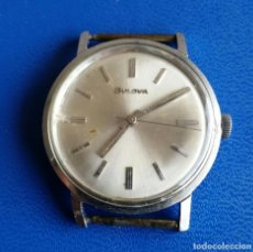 Relojes de pulsera: RELOJ BULOVA 34MM. CARGA MANUAL FUNCIONANDO. Lote 128732815