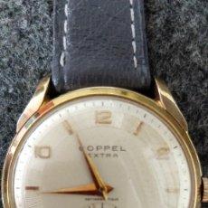 Relojes de pulsera: RELOJ CABALLERO COPPEL EXTRA, 17 RUBÍS, AÑOS 50/60, PLAQUÉ G20. Lote 128870731
