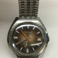 Relojes de pulsera: RELOJ CASWATCH CALENDAR MODELO VINTAGE EN FUNCIONAMIENTO. Lote 128892267