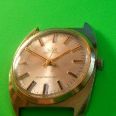 Relojes de pulsera: RELOJ ASTRAL MECANICO A CUERDA. AÑOS 80. 35 MM. S/C. FUNCIONANDO. FOTOS Y DESCRIP.. Lote 128998095