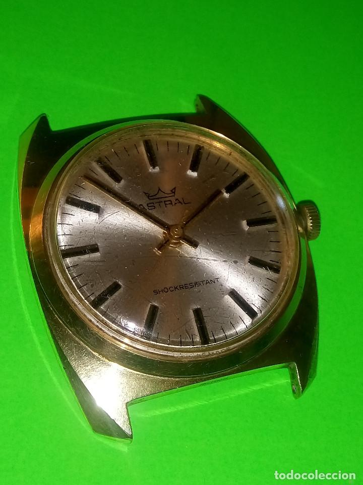 Relojes de pulsera: RELOJ ASTRAL MECANICO A CUERDA. AÑOS 80. 35 MM. S/C. FUNCIONANDO. FOTOS Y DESCRIP. - Foto 7 - 128998095