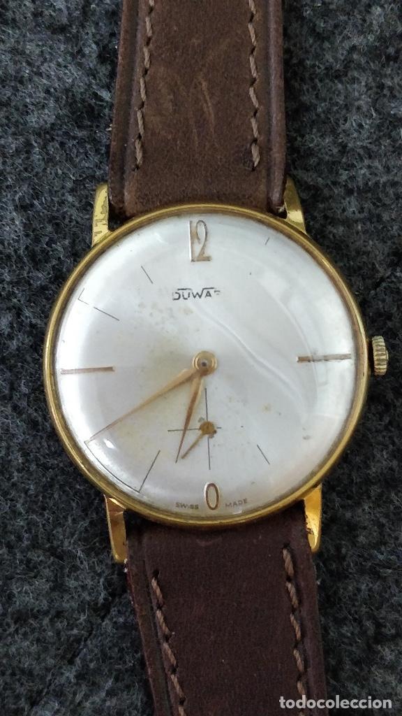 RELOJ DUWARD, 15 JEWELS, PLAQUÉ 10MICRAS, LA CHAUX DE FONDS (Relojes - Pulsera Carga Manual)