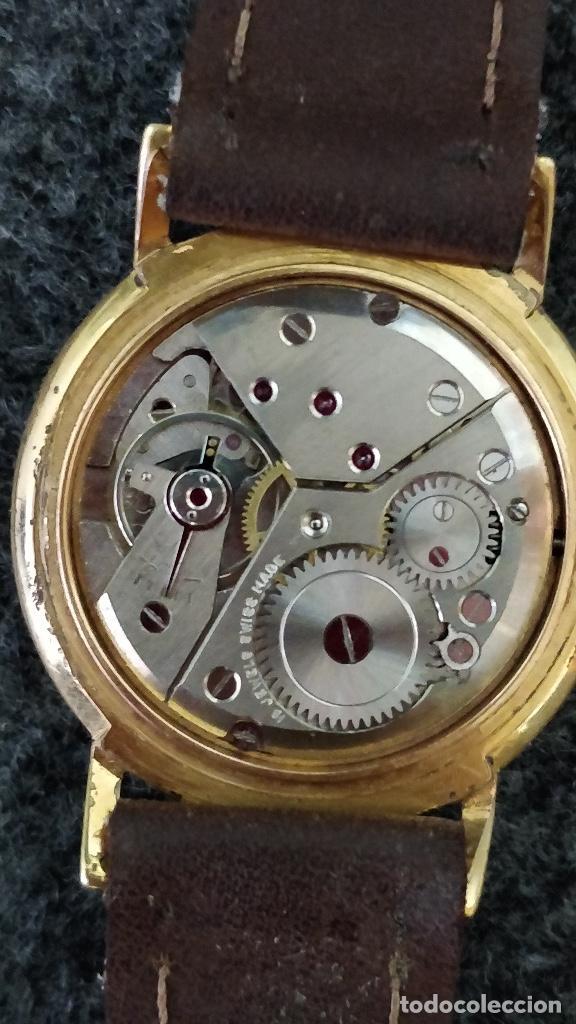 Relojes de pulsera: Reloj DUWARD, 15 Jewels, plaqué 10micras, La chaux de fonds - Foto 3 - 129069595