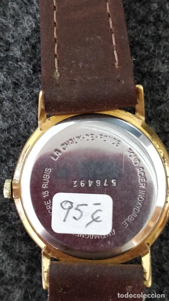 Relojes de pulsera: Reloj DUWARD, 15 Jewels, plaqué 10micras, La chaux de fonds - Foto 4 - 129069595
