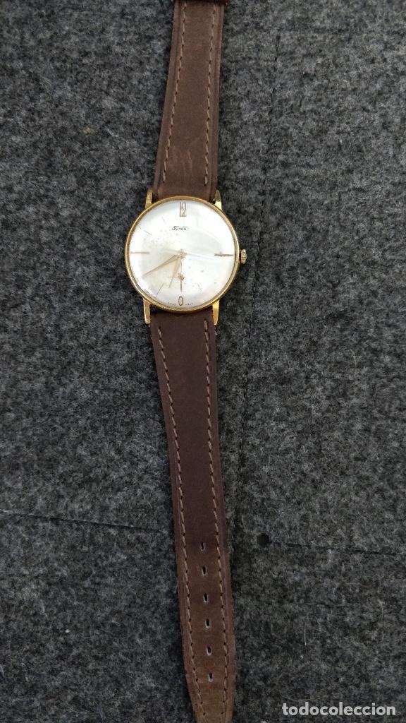 Relojes de pulsera: Reloj DUWARD, 15 Jewels, plaqué 10micras, La chaux de fonds - Foto 5 - 129069595