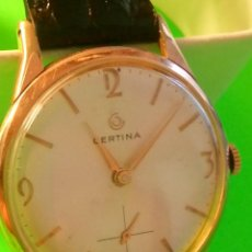 Relojes de pulsera: CERTINA. MANUAL A CUERDA. AÑOS 70. FUNCIONANDO. 33.5 Y 34.5 C/C. P. ORO (((20 MICRAS))). IMPECABLE.. Lote 159610192