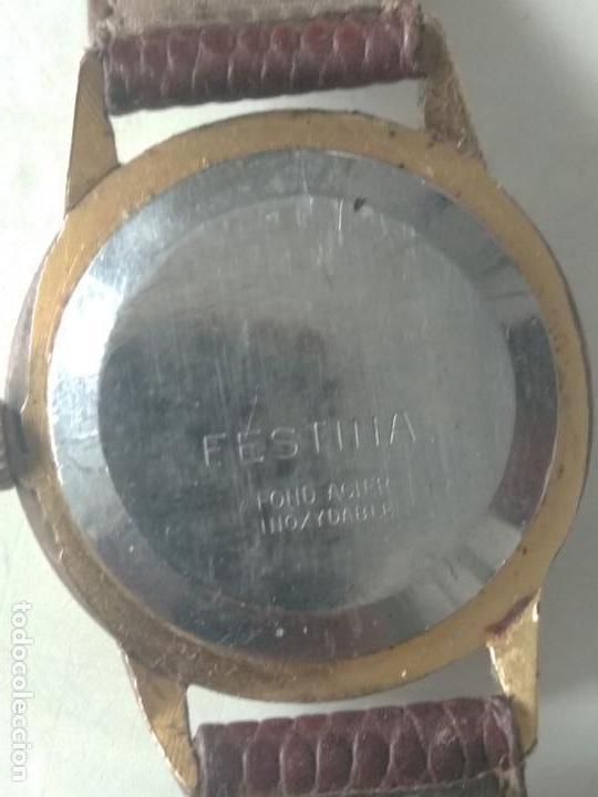 Relojes de pulsera: reloj festina de cadete 17 rubis antichoc fond acer inoxidable funciona en ver fotos - Foto 4 - 129368271
