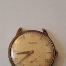 Relojes de pulsera: RELOJ DE PULSERA CABALLERO CARGA MANUAL,DWARD MADE IN SWISSE, VER DESCRIPCION. Lote 129521591