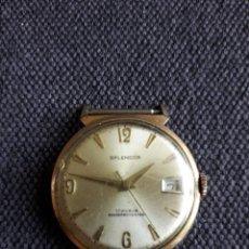Relojes de pulsera: RELOJ MARCA SPLENDOR. CLÁSICO DE CABALLERO.. Lote 129727323