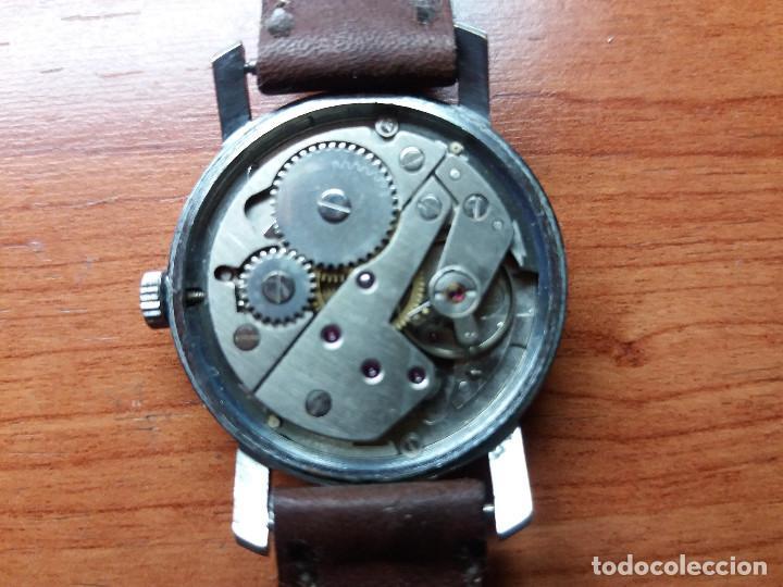 Relojes de pulsera: reloj verni, 30 mm sin contar corona, vintage, de cuerda, funcionando. - Foto 3 - 129969935