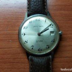 Relojes de pulsera: RELOJ PATIC, DE HOMBRE, 34 MM SIN CONTAR CORONA, VINTAGE, FUNCIONA, SE ADELANTA MUCHO... Lote 129972011