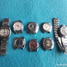 Relojes de pulsera: LOTE DE 8 RELOJES ANTIGUOS MECÁNICOS PARA DAMA. . Lote 129992531