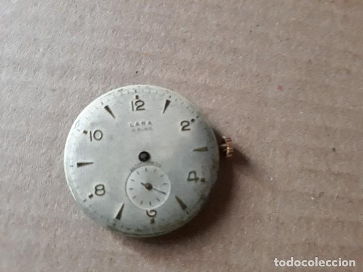 RELOJ DE PULSERA CABALLERO CARGA, LARA 15 BUBIS, PARA PIEZAS ,VER FOTOS (Relojes - Pulsera Carga Manual)