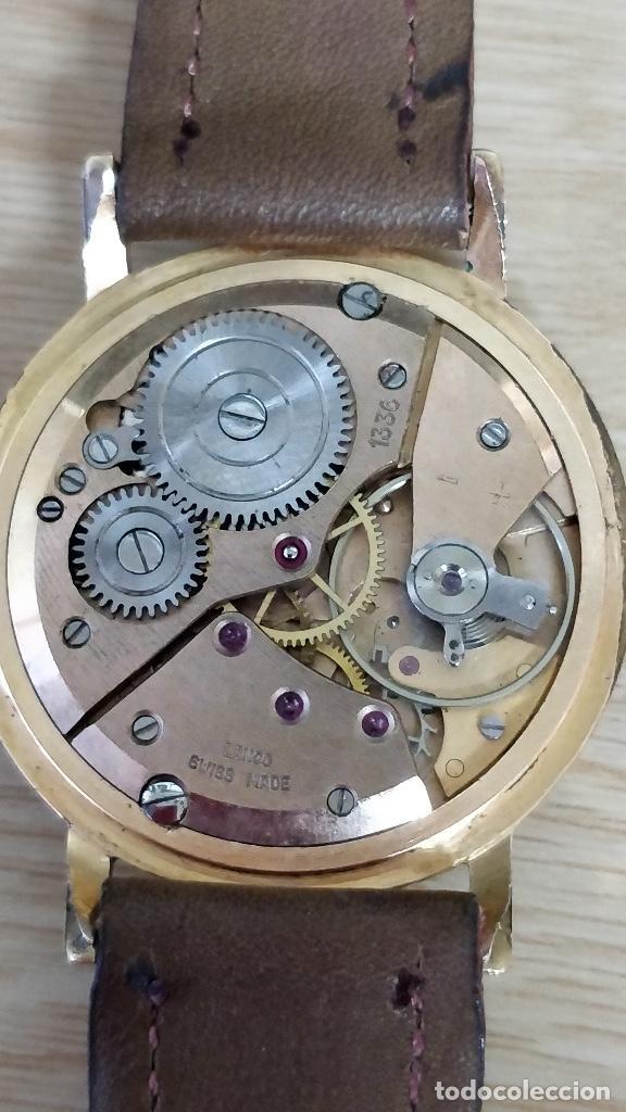 Relojes de pulsera: Reloj LANCO, carga manual 17 Rubís. - Foto 2 - 130239698