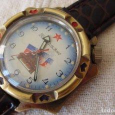 Relógios de pulso: RELOJ MILITAR RUSO MANUAL VOSTOK/BOSTOK GENERALSKI. Lote 130392211