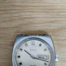 Relojes de pulsera: RELOJ JONIC 17 RUBÍS, CALENDARIO Y DÍA DE LA SEMANA.. Lote 130475670