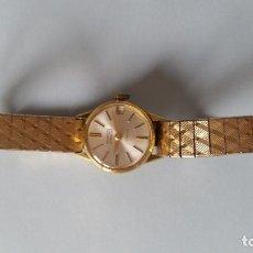 Relojes de pulsera: ANTIGUO RELOJ DE SEÑORA ANOS 50,60 CON CALENDARIO MANUAL MARCA PRINCESS GARDNER MAD SUIZE. Lote 130694119