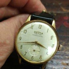 Relojes de pulsera: RELOJ A CUERDA VINTAGE DOGMA SWISS MADE , SUIZO NO FUNCIONALEER. Lote 130863824