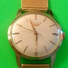Relojes de pulsera: LONGINES DE ORO. MANUAL. 1.964 (((( IMPECABLE )))) ORO DE 18 KT. 0,750 M. REVISADO Y FUNCIONANDO.. Lote 130963928