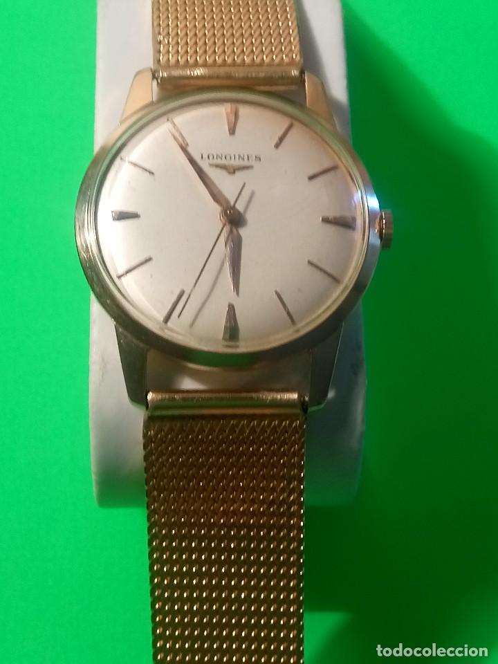 Relojes de pulsera: LONGINES DE ORO. CUERDA MANUAL. 1.964 (((( IMPECABLE )))) ORO DE 18 KT. 0,750 MILS. FOTOS Y DESCRIPC - Foto 2 - 130963928