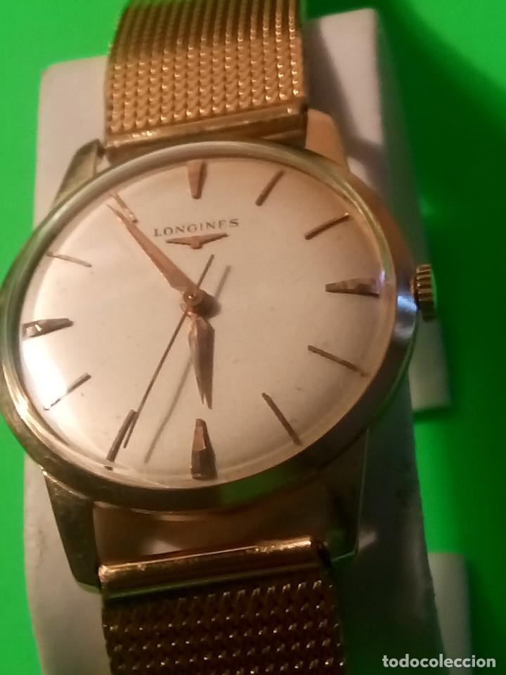 Relojes de pulsera: LONGINES DE ORO. CUERDA MANUAL. 1.964 (((( IMPECABLE )))) ORO DE 18 KT. 0,750 MILS. FOTOS Y DESCRIPC - Foto 3 - 130963928