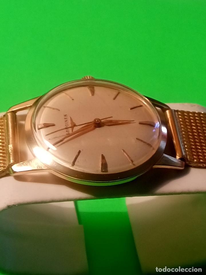 Relojes de pulsera: LONGINES DE ORO. CUERDA MANUAL. 1.964 (((( IMPECABLE )))) ORO DE 18 KT. 0,750 MILS. FOTOS Y DESCRIPC - Foto 5 - 130963928