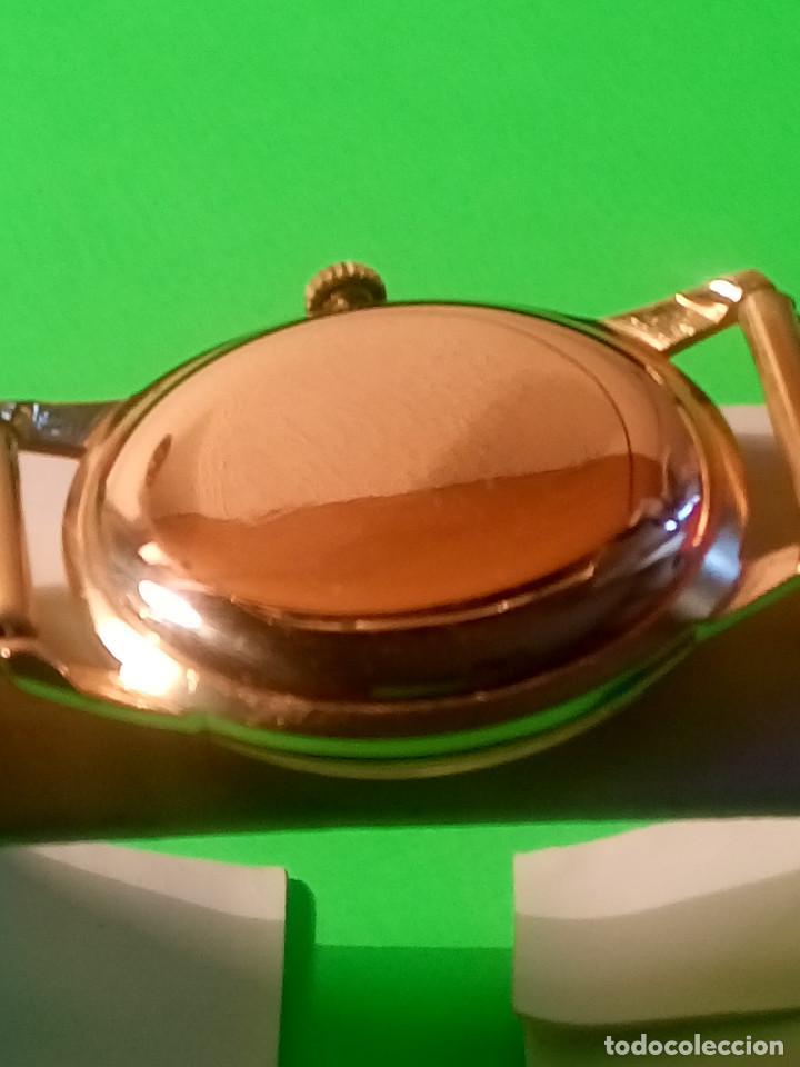 Relojes de pulsera: LONGINES DE ORO. CUERDA MANUAL. 1.964 (((( IMPECABLE )))) ORO DE 18 KT. 0,750 MILS. FOTOS Y DESCRIPC - Foto 7 - 130963928