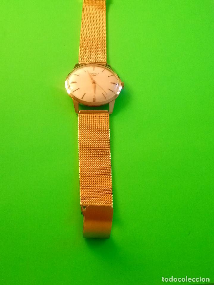 Relojes de pulsera: LONGINES DE ORO. CUERDA MANUAL. 1.964 (((( IMPECABLE )))) ORO DE 18 KT. 0,750 MILS. FOTOS Y DESCRIPC - Foto 10 - 130963928